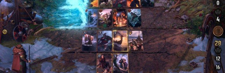 <h2 class='titel'>Gwent: The Witcher Card Game</h2><h2 class='score'>8/10</h2><div><span class='citat'>&bdquo;...har formået at genopfinde sig selv for tredje gang, og tredje gang har i den gang vist sig at være lykkens gang.&ldquo;</span><span class='forfatter'>- Søren Svanhof, Gamereactor</span></div>