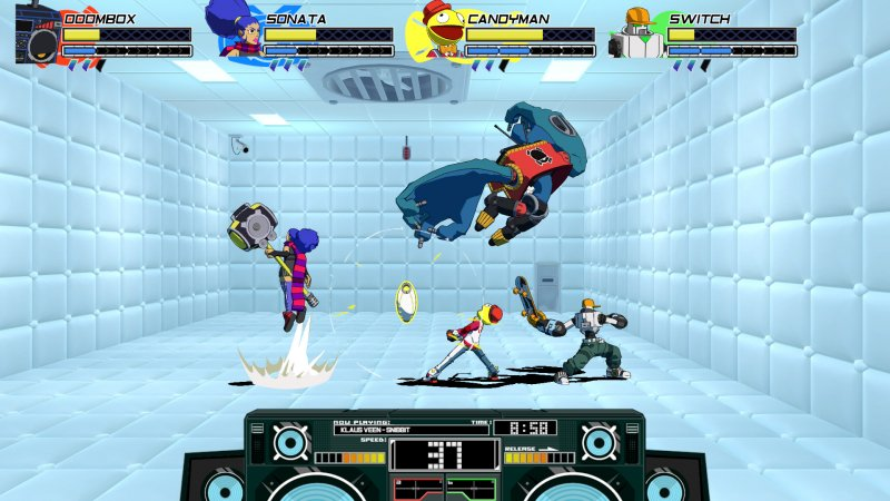 Lethal League Blaze (PC)   © Reptile 2018    4/6