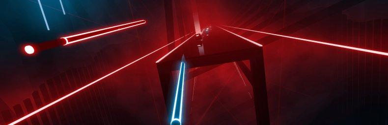<h2 class='titel'>Beat Saber</h2><h2 class='score'>4.5/5</h2><div><span class='citat'>&bdquo;Hvis Luke Skywalker er musikalsk anlagt vil han med sikkerhed elske Beat Saber. Vi kan i hvert fald give spillet en varm anbefaling, og måske kalde det en must have VR titel til PlayStation VR.&ldquo;</span><span class='forfatter'>- David Gohs, Gamers Lounge</span></div>