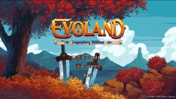 Evoland: Legendary Edition (NS)   © Shiro 2019    1/3
