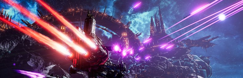 <h2 class='titel'>Battlefleet Gothic: Armada 2</h2><h2 class='score'>8/10</h2><div><span class='citat'>&bdquo;...er du til flammende kanonild, også med lasere og torpedoer i en futuristisk sat rumskibskrig, så er du kommet til det rette sted.&ldquo;</span><span class='forfatter'>- Kim Olsen, Gamereactor</span></div>