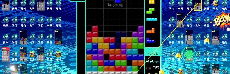 <h2 class='titel'>Tetris 99</h2><h2 class='score'>8/10</h2><div><span class='citat'>&bdquo;...er måske ikke helt så tungt, som de andre drenge i vægtklassen, og det kunne klæde det med lidt hjælp til spillerens forståelse af systemerne, men udover det, er det friskt, direkte og en smule aggressivt, og vi er helt og aldeles forelsket i det.&ldquo;</span><span class='forfatter'>- Gamereactor EU, Gamereactor</span></div>