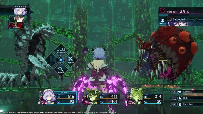 Death End ReQuest (PS4)   © Idea Factory 2018    4/5