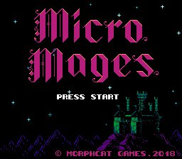 Micro Mages (NES)  © Morphcat 2019   1/3