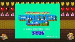 Sega AGES: Wonder Boy In Monster Land (NS)  © Sega 2019   1/3