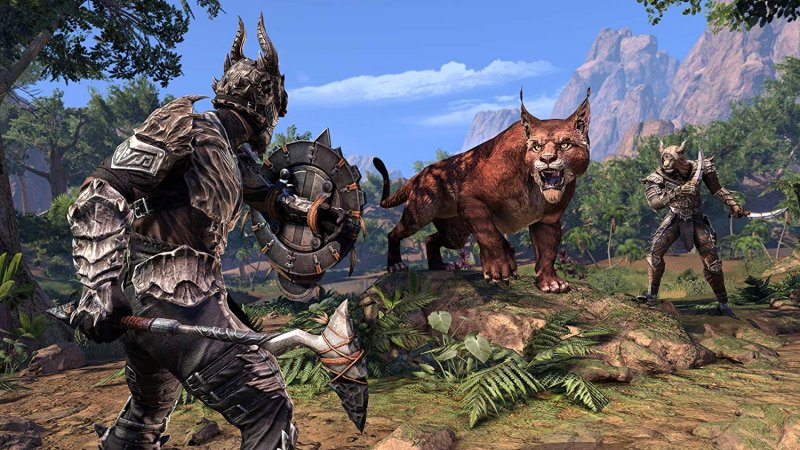 The Elder Scrolls Online: Elsweyr (PS4)   © Bethesda 2019    4/5