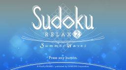 Sudoku Relax 2: Summer Waves (NS)  © G-Mode 2019   1/3