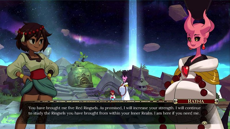 Indivisible (PS4)  © 505 Games 2019   6/7