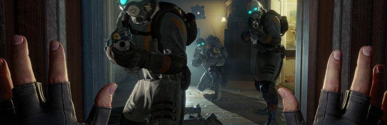 """<h2 class='titel'>Half-Life: Alyx</h2><div><span class='citat'>""""Udkommer lige om lidt - 23/3.  Valve har frigivet nogle gameplay-film: https://youtu.be/LTLotwKpLgk https://youtu.be/nFjtVmka54E https://youtu.be/Qspam8ftpIc  Der er fire bevægelsesindstillinger i spillet:  https://yout...""""</span><span class='forfatter'>- jaes</span></div>"""
