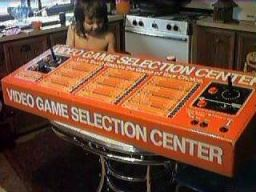 Atari Video Game Selection Center