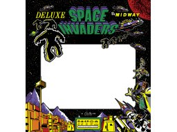 Space Invaders Deluxe (ARC)  © Midway 1980   2/2
