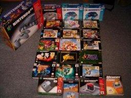 Min Nintendo 64 samling 4/10