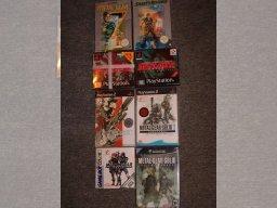 Min Metal Gear samling 10/10