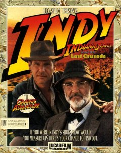 Indiana Jones And The Last Crusade: The Adventure Game (US)