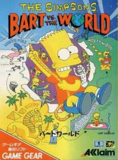Simpsons, The: Bart Vs. The World (JAP)