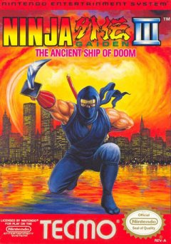 Ninja Gaiden III: The Ancient Ship Of Doom (US)