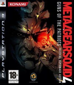 Metal Gear Solid 4: Guns Of The Patriots (EU)