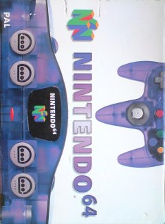 Nintendo 64 [Grape Purple] (EU)
