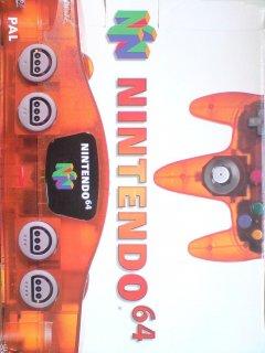 Nintendo 64 [Fire Orange] (EU)