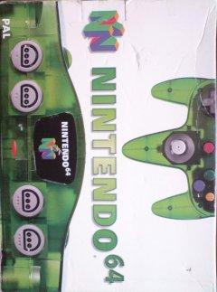 Nintendo 64 [Jungle Green] (EU)