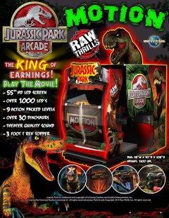 Jurassic Park Arcade [Deluxe Motion]