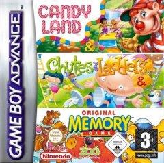Candy Land / Chutes & Ladders / Original Memory Game (EU)