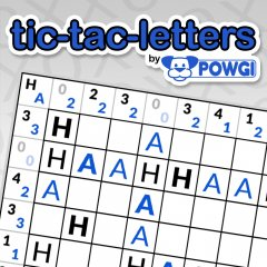 Tic-Tac-Letters By POWGI (EU)