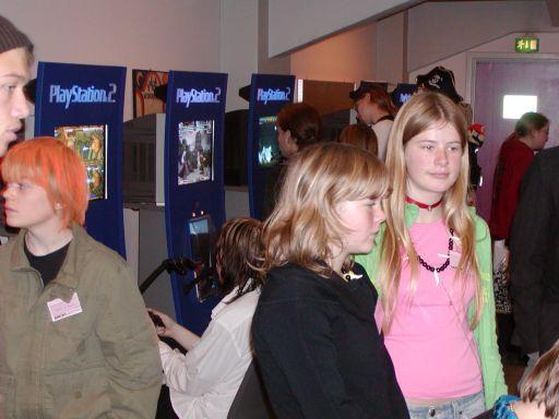 I gameroomet kom der både piger og drenge. Spilkultur skal være sjovt for alle og fordelingen var næsten 50:50. 38/99
