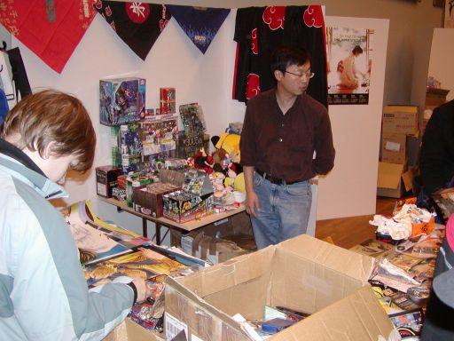 Cartoon Passion havde tonsvis af merchandise til salg. 70/99