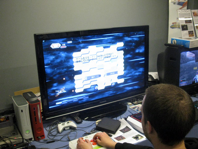 Otomedius G til Xbox 360 er det nyeste skud på stammen af spinoffs Gradius-serien. Nu med ustyrligt mange letpåklædte, overdimensionerede kvinder. 17/72