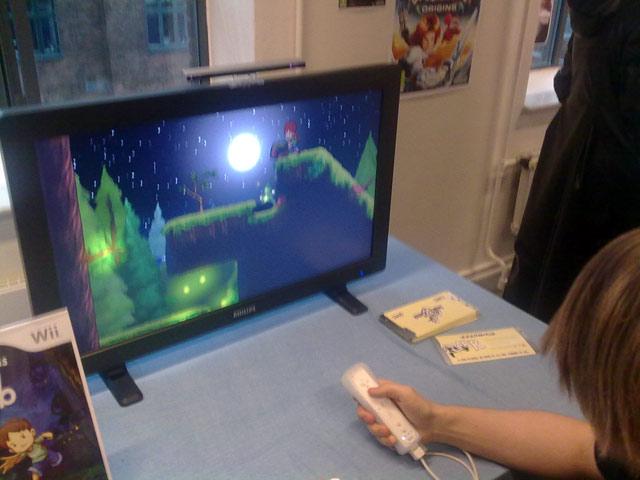 A Boy and his Blob-remaken til Wii ligner en flot og klassisk, japansk tegnefilm. Spillets grafikstil er bevidst inspireret af stilen fra Miyazaki og Studio Ghibli. 70/72