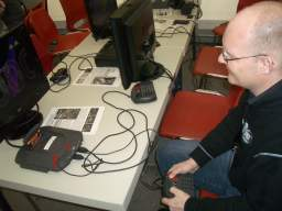 Jeff Minters super spilbare udgave af Tempest 2000 til Atari Jaguar. Controlleren er stadigvæk lige dårlig. 18/58