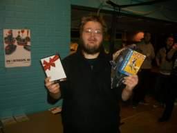 Kristensen opgav fra start at spille mod The Dane i R-Type, men med sikker sejr i Tetris, og kneben ditto i IK+ og Super Ghouls 'N Ghost løber han med sejren og er dermed officiel Danmarksmester i Retrospil 2008. Tillykke, det var fortjent. 76/81