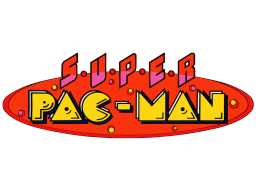 Super Pac-Man (ARC)  © Namco 1982   1/1