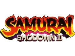 Samurai Shodown III: Blades Of Blood (MVS)  © SNK 1995   1/1