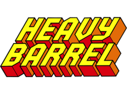 Heavy Barrel (ARC)  © Data East 1987   1/4