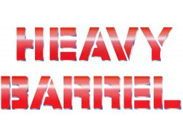 Heavy Barrel (ARC)  © Data East 1987   4/4