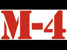 M-4 (ARC)  © Midway 1977   1/1