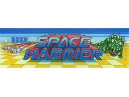 Space Harrier (ARC)  © Sega 1985   1/2