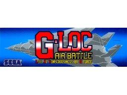 G-Loc: Air Battle (ARC)  © Sega 1990   1/2