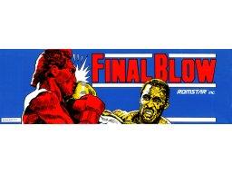 Final Blow (ARC)  © Taito 1989   2/3