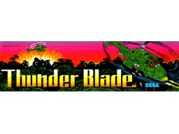 Thunder Blade (ARC)  © Sega 1987   1/2