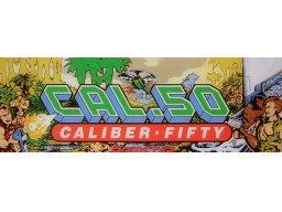 Cal .50: Caliber Fifty (ARC)  © SETA 1989   2/3