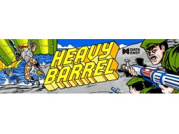 Heavy Barrel (ARC)  © Data East 1987   3/4