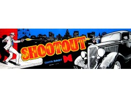 Shootout (ARC)  © Data East 1985   1/1