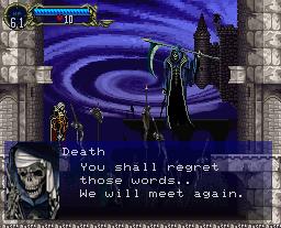 Castlevania: Symphony Of The Night (PS1)  © Konami 1997   2/21