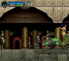 Castlevania: Symphony Of The Night (PS1)  © Konami 1997   11/21