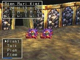 Dragon Quest VII (PS1)  © Enix 2000   3/5
