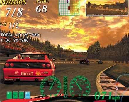 Ferrari F355 Challenge (DC)  © Sega 2000   4/6
