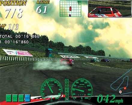 Ferrari F355 Challenge (DC)  © Sega 2000   6/6